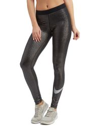 Nike - Pro Sparkle Training Tights - Lyst