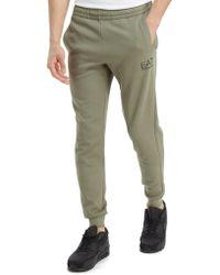 EA7 - Double Knit Trousers - Lyst