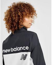 New Balance - 1/2 Zip Windbreaker Jacket - Lyst
