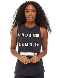 Under Armour - Muscle Tank Top - Lyst