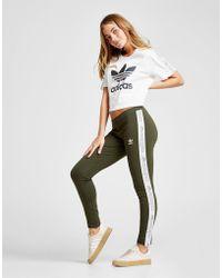 adidas Originals - Tape Leggings - Lyst