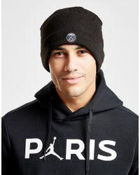 9ce9ab61d4e84 Nike Jordan X Paris Saint-germain Pro Cap in Black for Men - Lyst