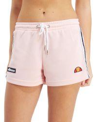 Ellesse - Stripe Pique Shorts - Lyst