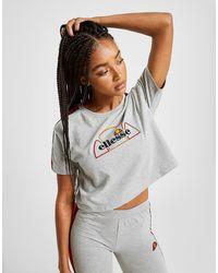 T Tape Rainbow Femme Shirt Crop qSpGzMUV