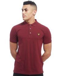 Lyle & Scott - Pique Short Sleeve Polo Shirt - Lyst