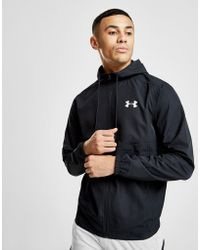 Under Armour - Sportstyle Woven Full Zip Jacket - Lyst
