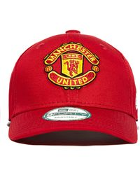 KTZ - 9forty Manchester United Adjustable Cap - Lyst