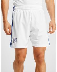 adidas - Cardiff City Fc 2018/19 Away Shorts - Lyst