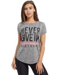 Superdry - Sd Sport Fitspiration T-shirt - Lyst