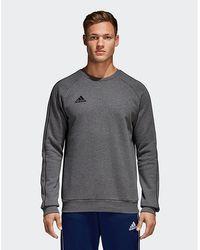 Adidas Originals Blue Pipe Crew Sweatshirt for Men Lyst