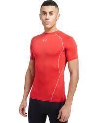 Under Armour - Heatgear Compression T-shirt - Lyst