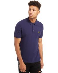 Lyle & Scott - Classic Short Sleeve Polo Shirt - Lyst