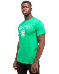 12f2b8f29ae Lyst - New Balance Celtic Badge Shirt in Green for Men