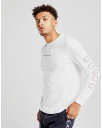 Champion - Repeat Long Sleeve T-shirt - Lyst