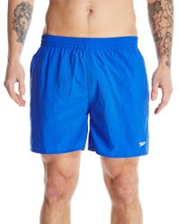 Speedo - Solid Leisure Swim Short - Lyst