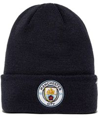 ce0996eb6 47 Brand - Manchester City Fc Cuffed Beanie Hat - Lyst