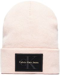 6ae0b339257 Calvin Klein - Re-issue Beanie - Lyst