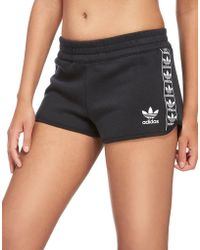 adidas Originals - Tape Fleece Shorts - Lyst
