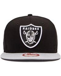 KTZ - Oakland Raiders 9fifty Cap - Lyst