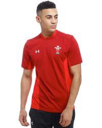 Under Armour - Wales Ru Training T-shirt - Lyst
