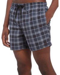 adidas - Check Swimming Shorts - Lyst
