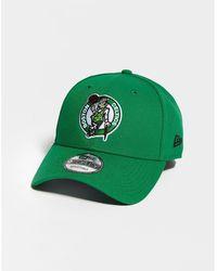 hot sales 50daa cc8d2 KTZ Boston Celtics Earned Edition 39thirty Cap in Yellow - Lyst