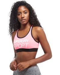 Superdry | Essentials Classic Sports Bra | Lyst