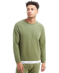 Calvin Klein - Basic Crew Tape Sweatshirt - Lyst