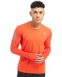 adidas - Response Long Sleeve T-shirt - Lyst