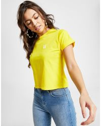11 Degrees - Core Cropped T-shirt - Lyst