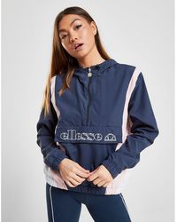 Ellesse - Panel 1/2 Zip Jacket - Lyst