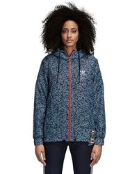 adidas - Active Icons Windbreaker - Lyst