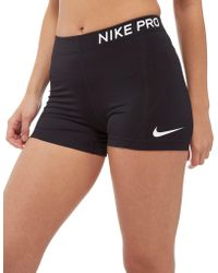 "Nike - Pro 3"" Training Shorts - Lyst"