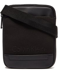 CALVIN KLEIN 205W39NYC - Caillou Mini Flat Crossover Bag - Lyst