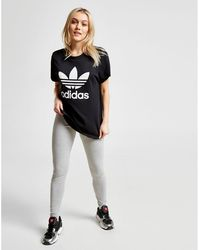 85d27f284f1 adidas Originals Women s Originals Big Trefoil Logo Tee Source · adidas  Originals Originals T shirt Dress With Trefoil Logo & Sheer