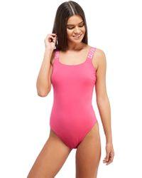 CALVIN KLEIN 205W39NYC - Tape 1 Piece Swimsuit - Lyst