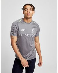 New Balance - Liverpool Fc Training Shirt - Lyst
