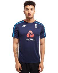 New Balance - Ecb Training T-shirt - Lyst