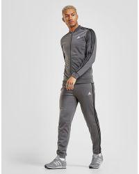 adidas - 3-Stripes Poly Track Pants - Lyst