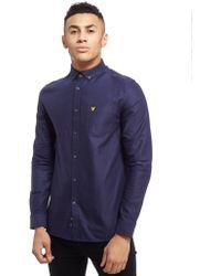 Lyle & Scott - Oxford Long Sleeve Shirt - Lyst