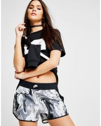 Nike - Marble All Over Print Shorts - Lyst