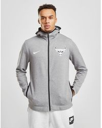 more photos 285cd a14b1 Nike Chicago Bulls City Edition Hoody in White for Men - Lyst