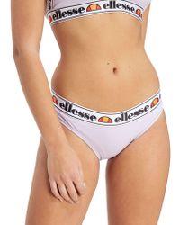 Ellesse - Tape Bikini Bottoms - Lyst