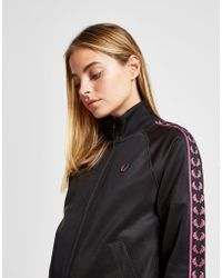 Fred Perry - Tape Logo Track Top - Lyst