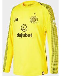 New Balance - Celtic Fc 2018/19 Home Goalkeeper Shirt - Lyst