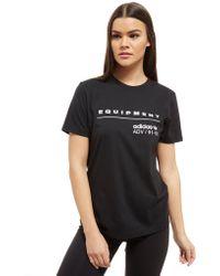 adidas Originals - Eqt T-shirt - Lyst
