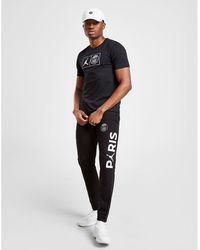 b96b28dd003 Nike Paris Saint Germain 2018/19 Squad Drill Top in Black for Men - Lyst