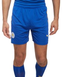 PUMA - Leicester City Fc 2017/18 Home Shorts - Lyst