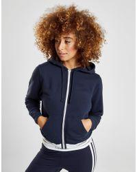 Calvin Klein - Womens Full Zip Hoodie Navy Blue - Lyst