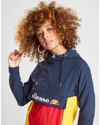 Ellesse - Colour Block 1/4 Zip Jacket - Lyst